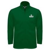 Fleece Full Zip Dark Green Jacket-D Dartmouth Stacked
