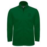 Fleece Full Zip Dark Green Jacket-Dartmouth D