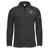 Columbia Full Zip Charcoal Fleece Jacket-Primary Mark