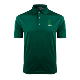 Dark Green Dry Mesh Polo-Dartmouth D