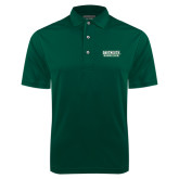Dark Green Dry Mesh Polo-Dartmouth Big Green