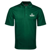Dark Green Mini Stripe Polo-D Dartmouth Stacked