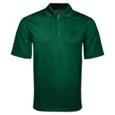Dark Green Mini Stripe Polo-Dartmouth D