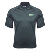 Charcoal Dri Mesh Pro Polo-Dartmouth Big Green
