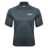 Charcoal Dri Mesh Pro Polo-Dartmouth Big Green