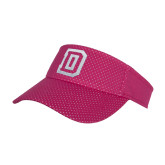 Pink Athletic Mesh Visor-Dartmouth D