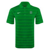 NIKE White/Green Game Time Polo-