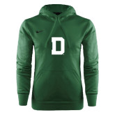 NIKE Green KO Chain Fleece Pullover Hoody-