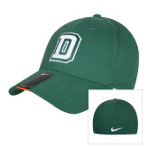 NIKE Green Swoosh Flex Hat-