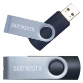 USB Black Mini Pen Drive 4G-Dartmouth Engraved