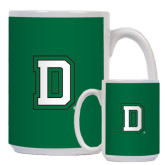 Full Color White Mug 15oz-Dartmouth D