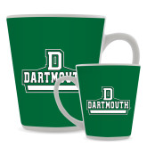 Full Color Latte Mug 12oz-Dartmouth