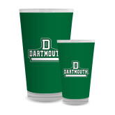 Full Color Glass 17oz-Dartmouth