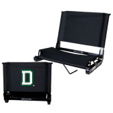 Stadium Chair Black-Dartmouth D