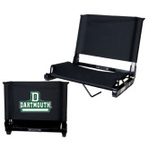 Stadium Chair Black-D Dartmouth Stacked