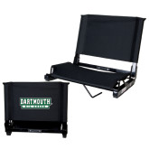 Stadium Chair Black-Dartmouth Big Green