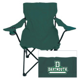 Deluxe Green Captains Chair-D Dartmouth Stacked