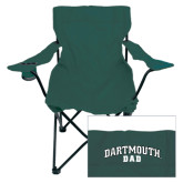 Deluxe Green Captains Chair-Dad