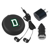 3 in 1 Black Audio Travel Kit-Dartmouth D
