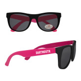 Black/Hot Pink Sunglasses-Dartmouth