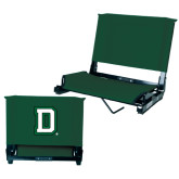 Stadium Chair Dark Green-Dartmouth D