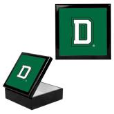 Ebony Black Accessory Box With 6 x 6 Tile-Dartmouth D