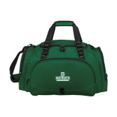 Challenger Team Dark Green Sport Bag-D Dartmouth Stacked