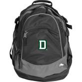 High Sierra Black Fat Boy Day Pack-Dartmouth D