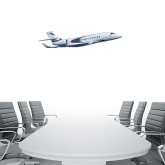 1.5 ft x 4 ft Fan WallSkinz-Falcon 5X Over Clouds