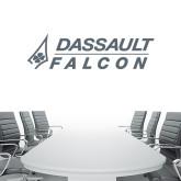 2.5 ft x 6.5 ft Fan WallSkinz-Dassault Falcon