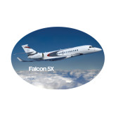 Small Decal-Falcon 5X Over Clouds