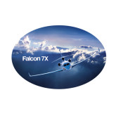 Small Decal-Falcon 7X Over Mountains
