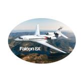 Small Decal-Falcon 8X Over River