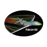 Small Decal-Falcon 8X Color Computer Illustration