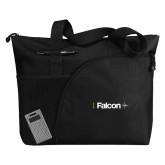 Excel Black Sport Utility Tote-Falcon