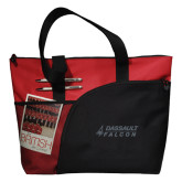 Excel Red Sport Utility Tote-Dassault Falcon