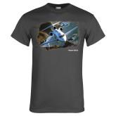 Charcoal T Shirt-Falcon 900LX Coastal