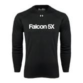 Under Armour Black Long Sleeve Tech Tee-Falcon 5X