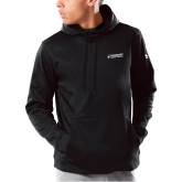 Under Armour Black Armour Fleece Hoodie-Dassault Aircraft Services
