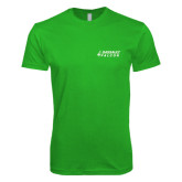 Next Level SoftStyle Kelly Green T Shirt-Dassault Falcon