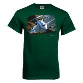 Dark Green T Shirt-Falcon 900LX Coastal