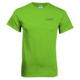 Lime Green T Shirt-Dassault Falcon