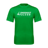 Syntrel Performance Kelly Green Tee-Dassault Falcon
