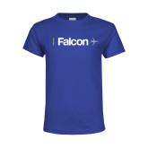 Youth Royal T Shirt-Falcon