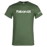 Military Green T Shirt-Falcon 6X