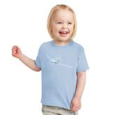 Toddler Light Blue T Shirt-Sketch Jet