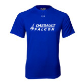 Under Armour Royal Tech Tee-Dassault Falcon