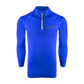 Under Armour Royal Tech 1/4 Zip Performance Shirt-Dassault Falcon