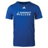 Adidas Royal Logo T Shirt-Dassault Falcon