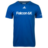 Adidas Climalite Royal Ultimate Performance Tee-Falcon 6X